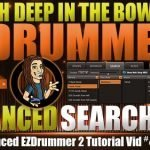 Advanced Search Tab in EZDrummer 2
