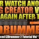 Advanced Song Creator in EZDrummer 2