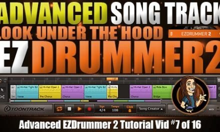 Advanced Song Track in EZDrummer 2