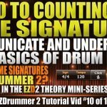 Intro to Counting and Time Signatures with EZD2