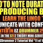 Intro to NOTE DURATIONS AND PRODUCING BEATS