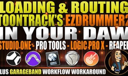 LOADING/ROUTING ezd2 IN YOUR DAW